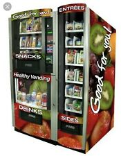Two Seaga HY900 Healthy You Combo Vending Machines Brand New