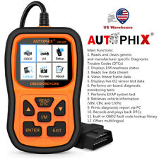 Autophix Om126P Car Code Reader Full OBD2 Diagnostic Tool Engine Error Analyzer