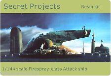 Star Wars 1/144 Firespray Class Slave 1 Attack Ship resin model kit