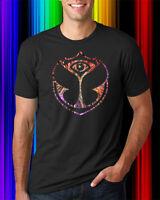 Bright Night Tomorrowland EDM Festival Men's Black T-Shirt Size S-2XL
