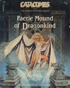 FAERIE MOUND OF DRAGONKIND EXC! BOOKMARKS Catacombs Module Dungeons Dragons D&D