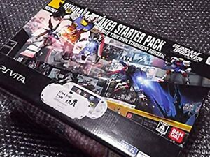 PlayStation PS Vita Wi-Fi Console GUNDAM BREAKER Limited Model Box