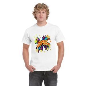Christmas Funny White T Shirt Mens Xmas Gifts Boys Short Sleeve Top Cotton Tee