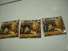Simple Plan Promo Sticker Still Not Getting Any Lot Of 3 From 2004