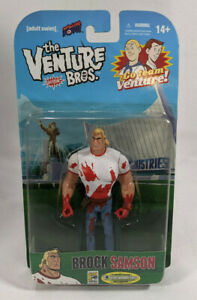 Venture Brothers SDCC Exclusive Bloody Shirt Brock Samson Action Figure - Sealed