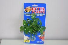 Aquarium Betta Plante Petit Plastique Fenêtre Feuille Environ 12 cm X 10