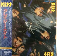 KISS - Crazy Nights ( MINI LP AUDIO CD with OBI )