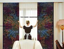 Indian Mandala Tie Dye Curtains Drapes Wall Decor Curtain Valances Tapestry Set
