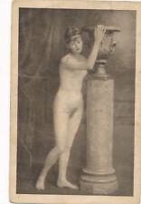 Erotik-Karte nackte Frau, Busen, Nude   (14)-(F26)