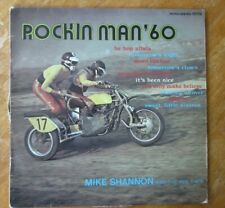 ANCIEN DISQUE 33 TOURS ROCKIN MAN'60 MIKE SHANNON AND THE RED CAPS SIDE CAR