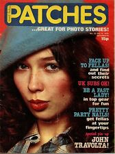 Patches Magazine 13 October 1979 No. 32   UK Subs  The Real Thing  John Travolta