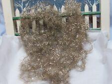 Antique Christmas Tree Garland Metallic Lametta Tinsel Vintage German Feather
