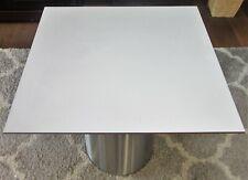 HPL-Platte  Tischplatte 8 mm Alugrau 702 x 670 mm Max-Universal F-Qualität U0775