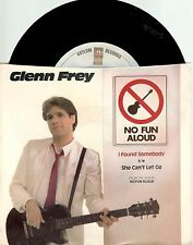 "Glenn Frey; Lot of Three 7"" Records"
