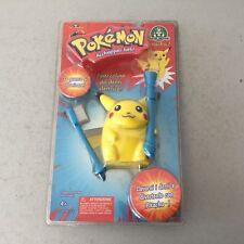 1999# Vintage Trendmasters Pokemon Pikachu Snap on electric light up toothbrush