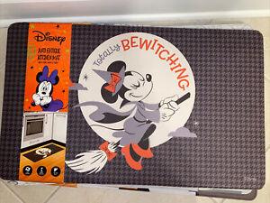 "NEW Minnie Mouse Witch HalloweenAnti Fatigue Kitchen Mat 18""x30"" Halloween RARE"