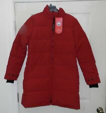 Canada Goose Women's Heatherton Parka Coat - Redwood - Large - NWT