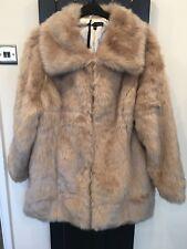 Beautiful BNWT Faux Fur Coat Size 24