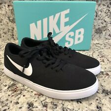 ddad73296e Nike SB Check Grade School Youth Sz 7 Y Skateboarding Shoes Black White