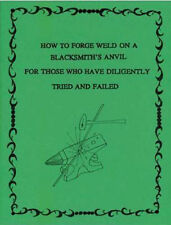How to Forge Weld On A Blacksmith's Anvil/blacksmithing