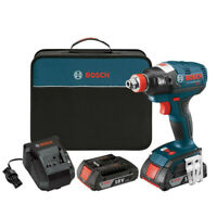Bosch 18V Li-Ion Socket Ready Impact Driver Kit IDH182-02 Certified Refurbished