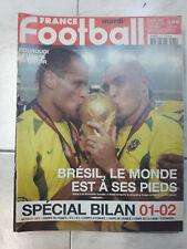 France Football Brésil Champion du Monde 2002