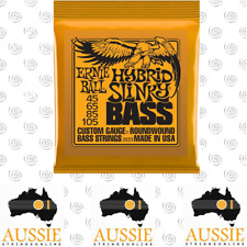 Ernie Ball Hybrid Slinky 2833 Bass Guitar Strings Roundwound 45-105 | 4 String