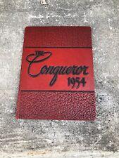 Gods Bible School 1954 Yearbook The Conqueror Cincinnati OH
