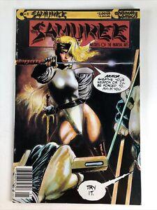 Samuree Mistress Of The Martial Arts #1 Continuity Comics 1987 First Print