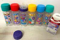 Vintage Playtex Nurser Drop Ins Bottles Decorated Patterns Choose Your Lot