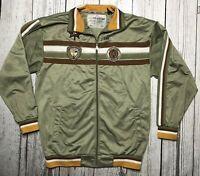 Enyce Track Jacket Olive Green Rare 1996 96 Size XXL Ski Fresh  2XL    1769