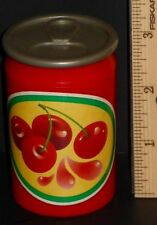 Fisher Price Fun With Food Poppity Popcorn Cherry Soda Drink Can With Lid Top