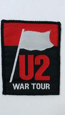 U2 War Tour rock hardrock logo vintage music patch Bono the Edge