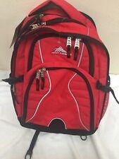 "NWTHigh Sierra Swerve Laptop Backpack 17""  School Or College Backpack CRIM/Black"