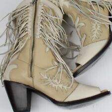 Double D by Lane Boots Josey Wales Women's Western Cowgirl Booties Size 10