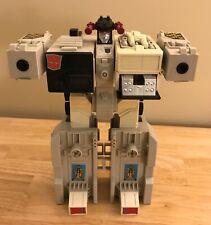 Transformers 1985 G1 METROPLEX Action Figure - HASBRO Takara - No Accessories -