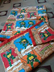 2 Teenage Mutant Ninja Turtles  Blankets Bedding Brick Retro Vintage TMNT