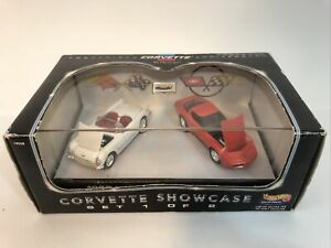 NEW 1998 Hot Wheels Collectibles 45th Anniversary Chevy Corvette Showcase Set #1