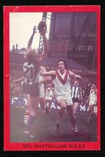 1973 Sunblest Sports Action Tip Top Bread John Perry North Melbourne card r