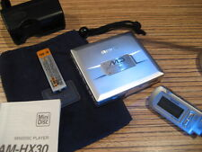 AIWA MD au hx30 MINIDISC Player + ohrh. + Télécommande