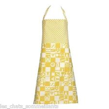GARNIER THIEBAUT, BISTROT JAUNE (YELLOW) WOVEN FRENCH APRON(S), NEW WITH TAGS