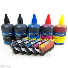 Refillable Ink Cartridge Kit for Canon PGI-225 CLI-226 iX6520 IP4920 5 Color