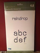 Quickutz Raindrop Alphabet All-on-One 4x8 Die