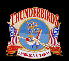 2014 US AIR FORCE THUNDERBIRDS F16 PATCH MCDILL AFB TAMPA BAY PIN UP AIRFEST WOW