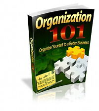 How To Get Organized To Make Your Business More Profitable. Reach Goals (CD-ROM)