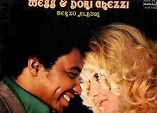 WESS & DORI GHEZZI disco LP 33 giri TERZO ALBUM 1975 made in ITALY perfetto