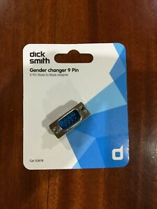 Gender Changer  (Serial RS- 232)   DB 9-Pin male to male adapter