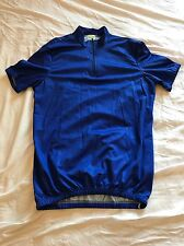 Italian Made My Bike Blue Cycling Jersey Short Sleeve Top T Shirt