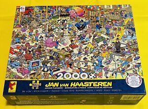 "Ceaco Jan Van Haasteren (2018) Crowd Pleasers 2000 Piece 38"" x 26"" Jigsaw Puzzle"