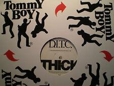 "D.I.T.C. - THICK (12"")  1999!!!  RARE!!!  A.G. + BIG L + O.C. + DJ PREMIER!!!"